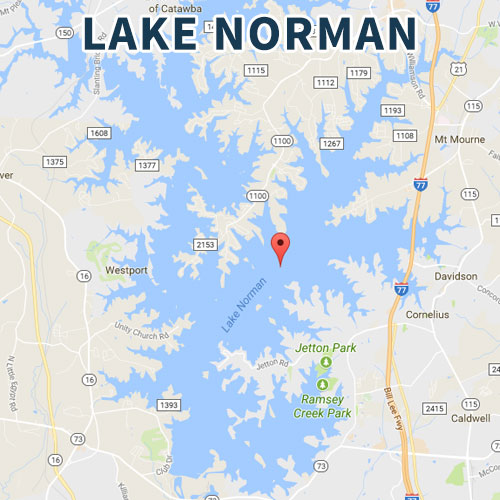 lake norman fishing map Lake Norman Division Tournament Entry Fee Carolina Anglers Team Trail lake norman fishing map