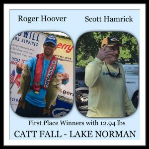 Lake Norman Tournaments Results – October 14, 2017
