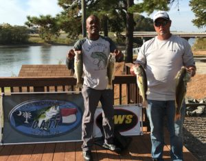 Kerr Lake Tournament Results – October 22, 2017