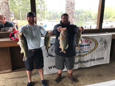 Tournament Results Wateree April 7, 2018