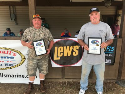 Tournament Results Wateree Spring Final April 14, 2018