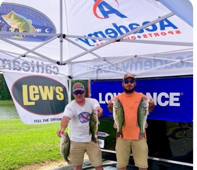 Tournament Results Lake Hickory May 19, 2018