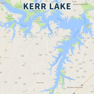 Old North Kerr Lake May 26th Ramp Change!!