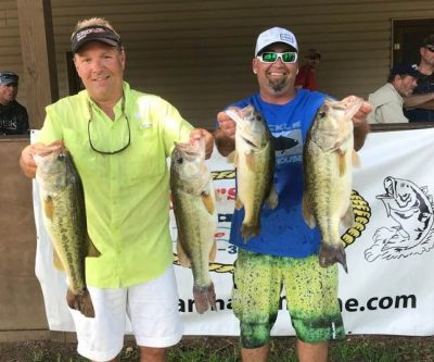 Tournament  Results Wateree Open June 2!