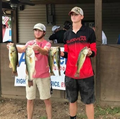Tournament Results Wateree Open July 21, 2018
