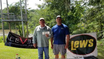 Tournament Results Savannah River Aug 18, 2018 Boatright & Morgan Win!