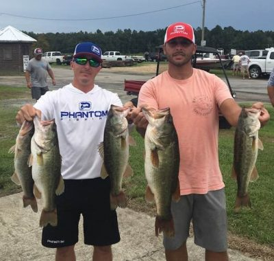 Tournament Results Waccamaw River Sept 29, 2018! Warren & Pennell Come Out on Top!