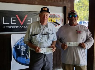 Tournament Results Santee Cooper Oct 13, 2018 Tyson & Driggers Bag Em Up!