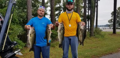 Tournament Results Santee Cooper Oct 20, 2018 Scott & Barkley Earn the Win!