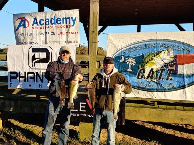 Tournament Results Yadkin High Rock Nov 11, 2018 Talbert & Talbert Come Out on Top! 22.21 lbs!