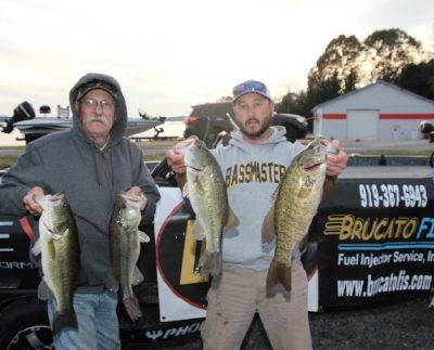 Tournament Results Smith Mtn Lake Nov 18, 2018 Woodroof & Davis Weigh in 18.95 lbs Topping the 34 Boat Field!