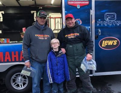 2018 SAVE CAGE Results Lake Norman Dec 8, 2018 Baumgardner & LeShock Win! Over $5,000 Raised For Cage!