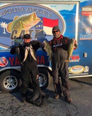 Tournament Results Lake Norman Dec 22, 2018 Chapman & Stephens Win With 14.04 lbs! Next Up is Dec 29 at Pinnacle!