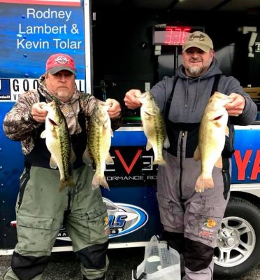 Tournament Results Lake Norman Fall Final Jan 12, 2019 Toler & Lambert Take Home $6,380.00!