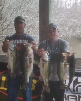 Tournament Results Sparkleberry Swamp Quest Jan 19, 2019 Geddings & Peavy Drop the Hammer! 24.54 lbs to win!   www.phantomoutdoors.com