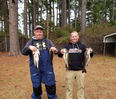 Tournament Results Lake Robinson, SC Jan 19, 2019 Butler & Gainey Win & Win Points!