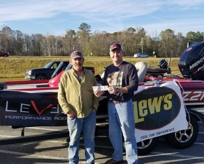 Tournament Results Savannah River Jan 19, 2019 Roundtree & Pittman Weigh in 9.52 lbs and WIN!