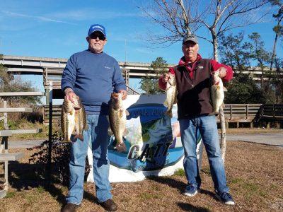 Tournament Results Carolina Coastal Rivers Jan 26, 2019 Pope & Johnson Bust 20 lbs!