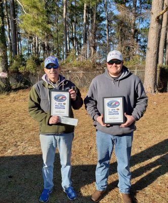 Tournament Results Lake Robinson Fall Final Jan 26, 2019 Mike & Clint Byrd Claim 1st Place!