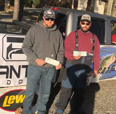 Tournament Results Kerr Lake, NC/VA Feb 24, 2019 Talbott & Johns Top the 39 Boat Field With 13.23 lbs! Collect Skeeter Real Money!