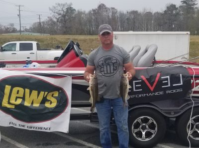 Tournament Results Savannah River Feb 16, 2019 Gary Lee Claims the Top Spot!