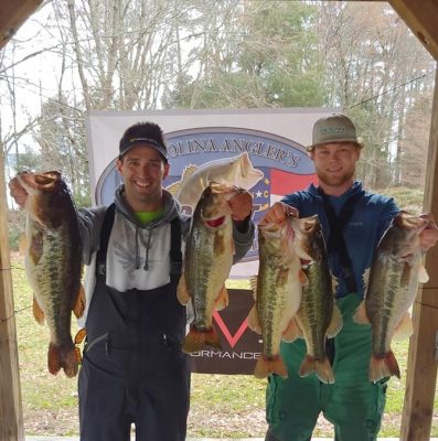 Tournament Results Lake Murray, SC Feb 16, 2019 Alvanos & Rennenbaum Blow Away the Field with 25.70 lbs!