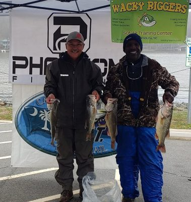 Tournament Results Yadkin Badin Lake Mar 3, 2019 Ray & Giles Whack Em! 19.01 lbs!