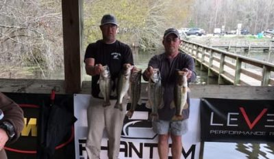 Read more about the article Tournament Results Sparkleberry Swamp Quest Mar 3, 2019 Geddings & Peavy Weigh Em Up!
