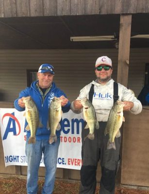 Tournament Results Wateree Mar 2, 2019 Davis & Allman Win Another Tough One At Wateree!
