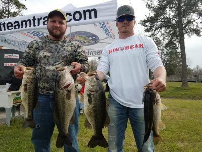 Tournament Results Cooper River Mar 9, 2019 Randall & Ryan Drew Cash In With 20.17 lbs!