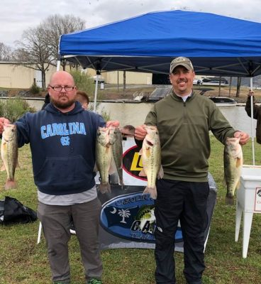 Tournament Results Lake Wylie March 10, 2019 Curtis & Rankin top the 27 Boats Field!