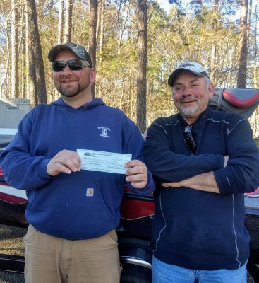 Tournament Results Kerr March 17, 2019 The Houchins Claim the Top of the Mountain! 17.87 lbs  $2,440.00!