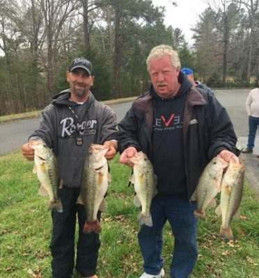 Tournament Results Wateree March 16, 2019 Hinson & Fletcher Bring in 19.56 lbs! $2,064.00!