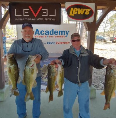 Tournament Results March 23rd Lake Murray ,SC Doug Lown & Rhet Manus Claim 1st! 19.83 lbs! Widened Their Point Lead!