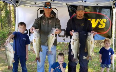 Tournament Results Santee Cooper, SC March 23 Waynick & McCauley Bust Out a 27 lb Bag to win! $1,750.00!