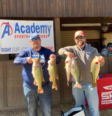 Tournament Results Wateree March 23, 2019 Compton & Strickland Weigh in 21.49 lbs & Take Home $1,918.00!