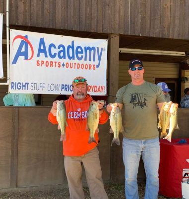 Tournament Results Wateree Open March 23, 2019 Neal & Price Weigh In a Solid Limit at 15.32 lbs Claim 1st & $980.00!