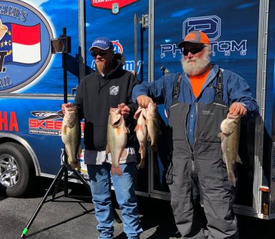 Tournament Results Old North Falls, NC  March 23, 2019 Dennis & Keith Allen Take Home $2,740.00! 22.37 lbs! ONLY 46 Teams!