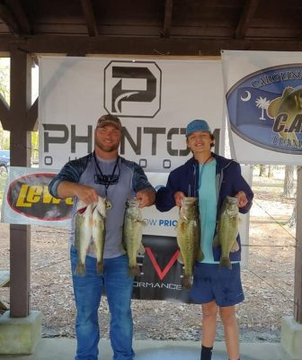 Tournament Results Lake Murray, SC April 6, 2019 Daniel Grassi & Tyler Thompson Win! 21.33 lbs $1,044.00!