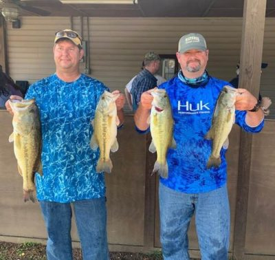 Tournament Results Wateree Open April 6, 2019 Greg Atkinson & Ron Catoe Weigh 19.99 lbs and a 7.04 lbs BF $1,297.00!