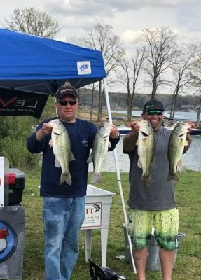 Tournament Results Lake Wylie March 30, 2019 John Paul George & Jason Quinn Win With 17.11 lbs! $1,440.00!
