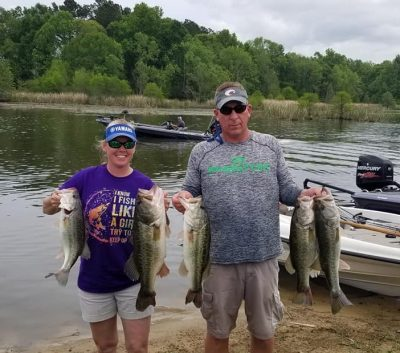 Tournament Results Santee Cooper, SC April 13, 2019 Gary Elsey & Mellissa Boodle Slam Em! 27.19 lbs BF 8.06 lbs  $2.458.00!