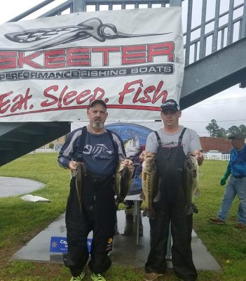 Tournament Results East Trail Roanoke River, NC April 14, 2019 Nanney & Brisette Win A Close One!