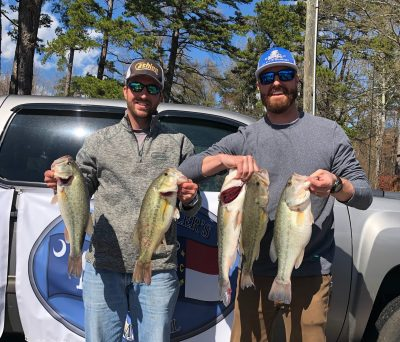 Tournament Results March 31, 2019 Kerr, VA Justis Bobbitt & Cullen Ports Top the 57 Boat Field! 18.18 lbs! Collect $2,650.00!