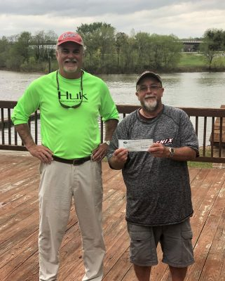 Tournament Results Kerr, Va April 14, 2019 Tommy Marrow & Dennis Reedy Weigh Em Up! 18.77 lbs! $1,705.00! Donnie Avant  & Randy Waterman Win the Kerr Spring Points!