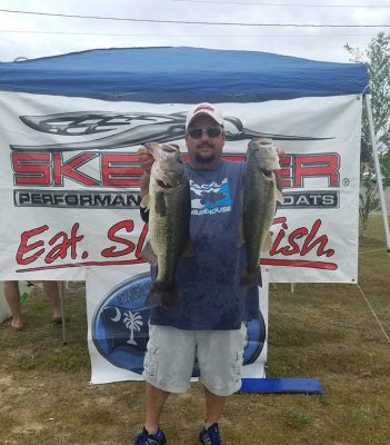 Tournament Results East – Roanoke River, NC May 11, 2019 Michael Chlomoudis & Scott Griffin Weigh in a Fat Sack at 22.19 lbs For the Win! Next CATT East on the Roanoke River is June 8th!