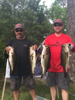 Tournament Results Tidewater North Landing River, VA May 11, 2019 Matt Jennings & Mark London Weigh In 23.10 lbs! Jeremy Gatewood & Jarred Allbritten Dominate the Tidewater Points!