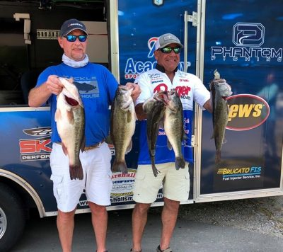 Tournament Results Old North Jordan Lake, NC May 18, 2019 Scott Smith & Tony Woodard Smack Em! 28.12 lbs! 7.43 BF With ONLY 32 Teams They Collected $2,717.00!!