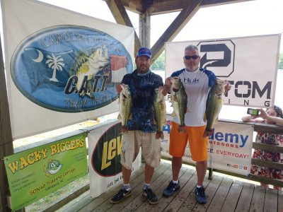 Tournament Results Yadkin Spring Final High Rock Lake, NC May 25, 2019 George Lambeth – Herby Young Rack Up! 22.77 lbs $2,960.00!