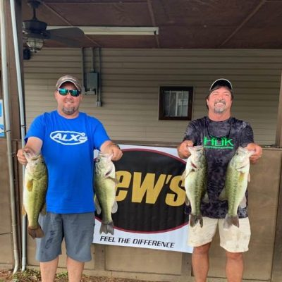 Tournament Results Lake Wateree, SC June 8, 2019 Lee Morris & Robert Ross Win Their 2nd Summer Qualifier! 19.79 lbs! $1,225.00!